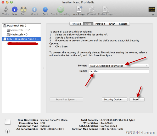 How to Create Bootable Mac OS X 10.10 Yosemite USB ...