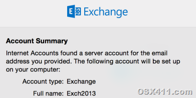 How to Configure Exchange 2013 Mail on Mac Yosemite, Out of Office Settings