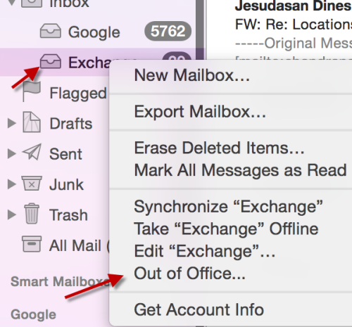 how to add work email to mac mail