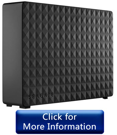 Seagate Expansion 5TB - best external hard drives for mac