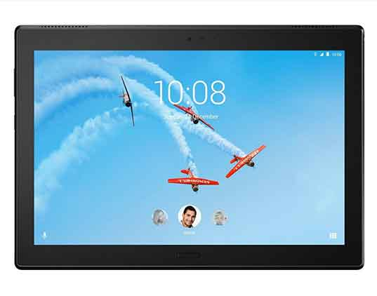 Lenovo-Tab-4-Plus,-10-inches-Android-Tablet,-64-bit-Octa-Core-Snapdragon,-2.0GHz,-16-GB-Storage,-Black,-ZA2T0000US